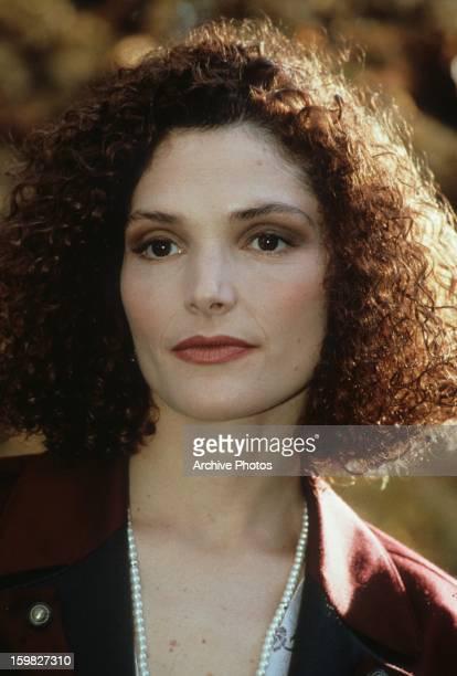 Mary Elizabeth Mastrantonio in a scene from the film 'White Sands' 1992