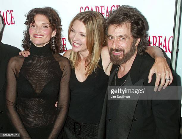 Mary Elizabeth Mastrantonio Michelle Pfeiffer and Al Pacino
