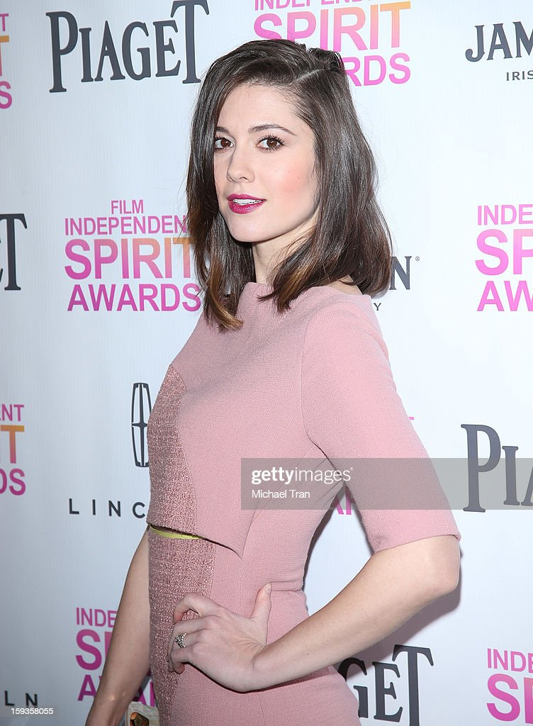 <a gi-track='captionPersonalityLinkClicked' href=/galleries/search?phrase=Mary+Elizabeth+Winstead&family=editorial&specificpeople=782914 ng-click='$event.stopPropagation()'>Mary Elizabeth Winstead</a> arrives at the 2013 Film Independent Filmmaker Grant And Spirit Award nominees brunch held at BOA Steakhouse on January 12, 2013 in West Hollywood, California.