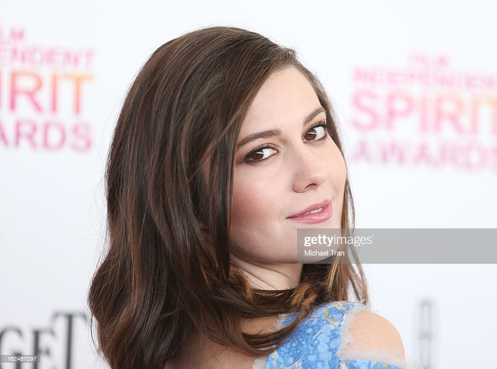 Mary Elizabeth Winstead arrives at the 2013 Film Independent Spirit Awards held on February 23, 2013 in Santa Monica, California.