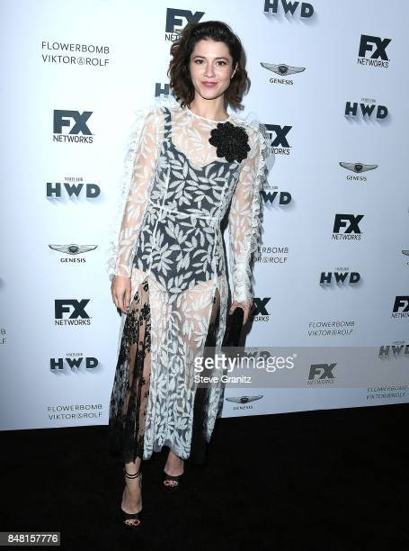 Mary Elizabeth Winstead arrives at the FX and Vanity Fair Emmy Celebration at Craft on September 16 2017 in Century City California