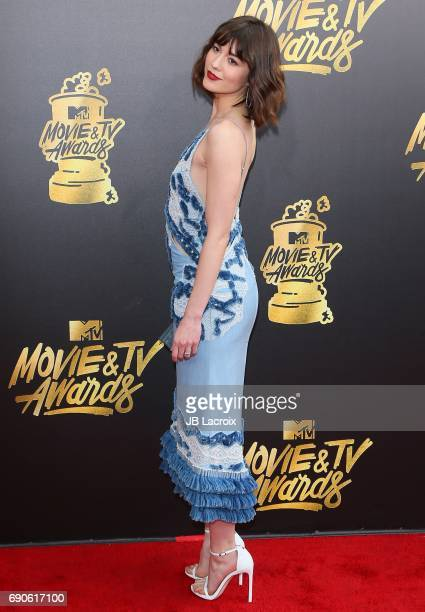 Mary Elizabeth Winstead attends the 2017 MTV Movie and TV Awards at The Shrine Auditorium on May 7 2017 in Los Angeles California