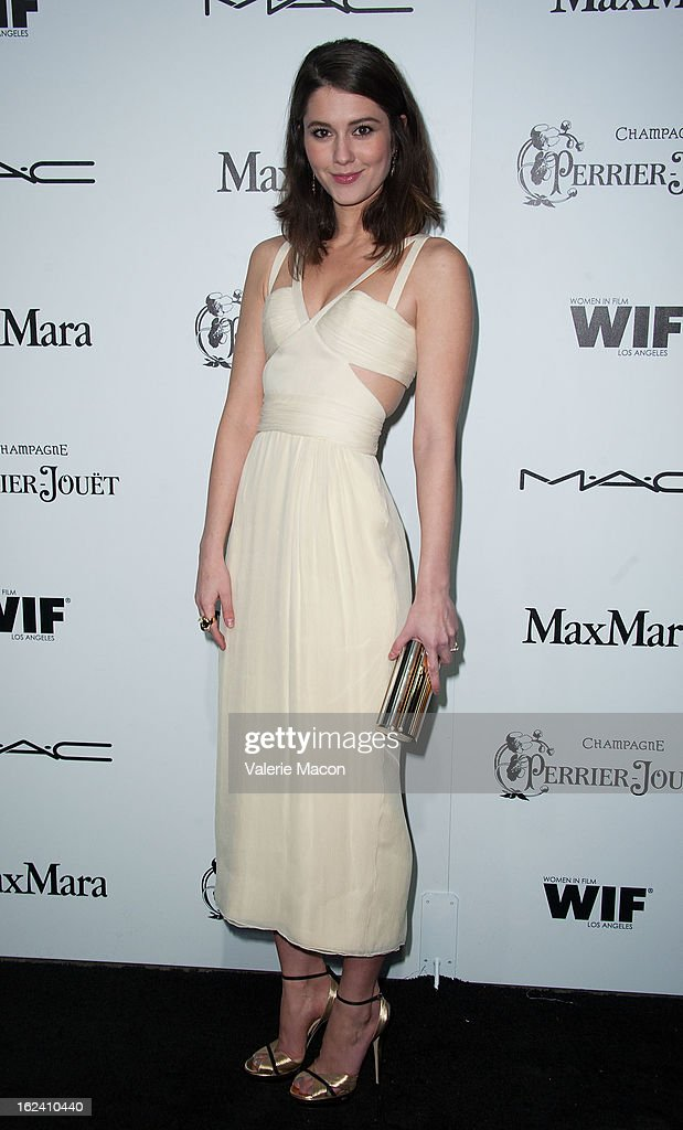 <a gi-track='captionPersonalityLinkClicked' href=/galleries/search?phrase=Mary+Elizabeth+Winstead&family=editorial&specificpeople=782914 ng-click='$event.stopPropagation()'>Mary Elizabeth Winstead</a> attends the 6th Annual Women In Film Pre-Oscar Party hosted by Perrier Jouet, MAC Cosmetics and MaxMara at Fig & Olive Melrose Place on February 22, 2013 in West Hollywood, California.