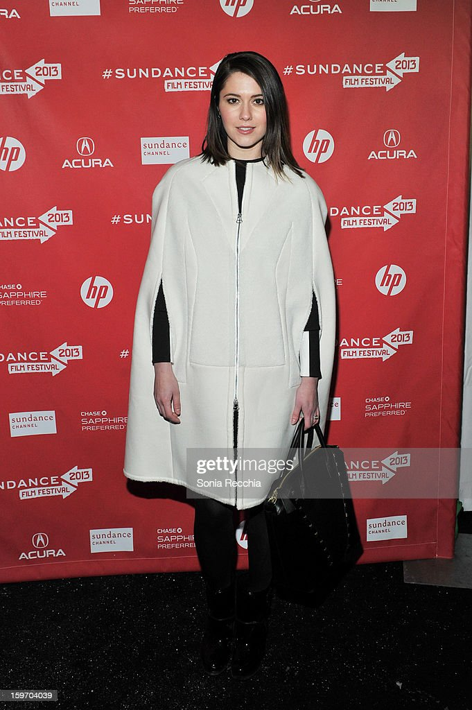 Mary Elizabeth Winstead attends 'The Spectacular Now' premiere at Library Center Theater during the 2013 Sundance Film Festival on January 18, 2013 in Park City, Utah.