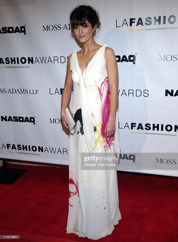 Mary Elizabeth Winstead during 2005 LA Fashion Awards - Arrivals at Orpheum Theatre in Los Angeles, California, United States.