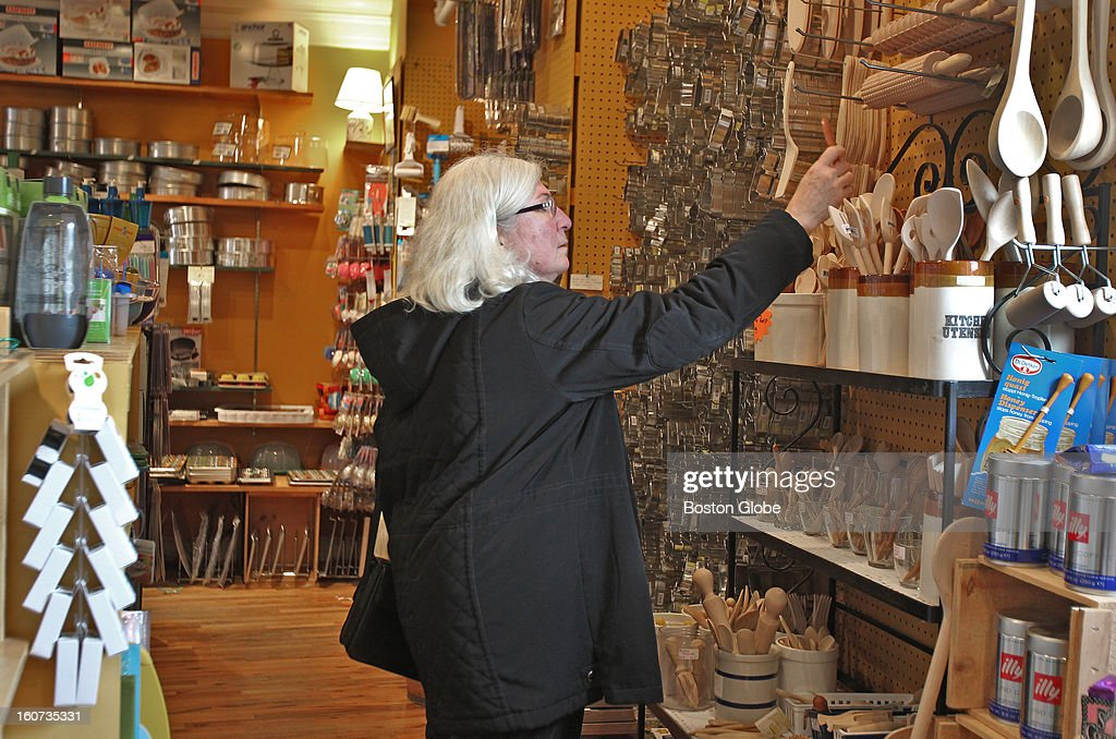 Mary Ellen Marsden shops at The Concord Shop. Sales for Massachusetts retailers came in slightly below projections, according to the Retailers Association of Massachusetts. The modest uptick of 2.76 in sales fell short of the association's 3.5 percent forecast. Retailers blame the fiscal cliff and fierce competition from online merchants for the gap.