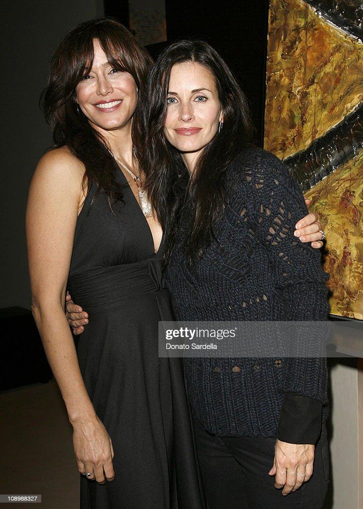 Mary Fanaro and Courteney Cox Arquette *EXCLUSIVE*