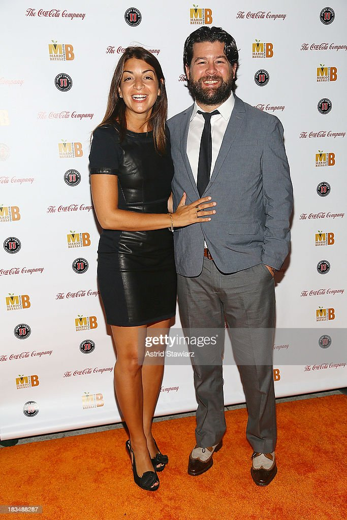 Mary Giuliani and Ryan Giuliani attend 2nd Annual Mario Batali Foundation Honors Dinner at Del Posto Ristorante on October 6, 2013 in New York City.
