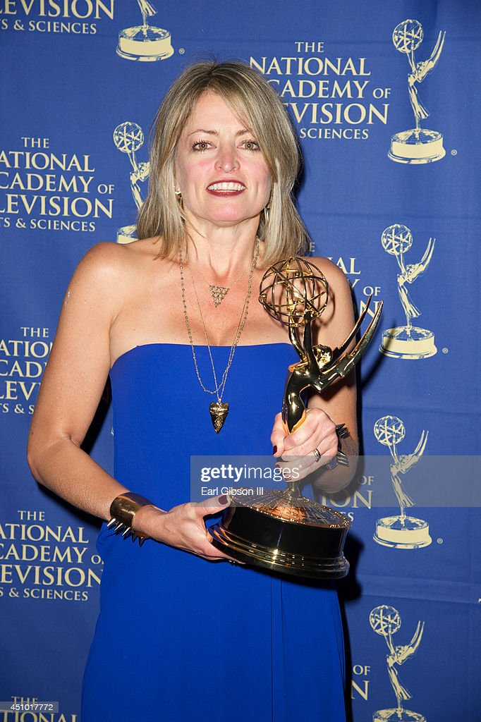 Mary Hannely of the Young and the Restless attends the Daytime Creative Arts Emmy Awards Gala at Westin Bonaventure Hotel on June 20, 2014 in Los Angeles, California.