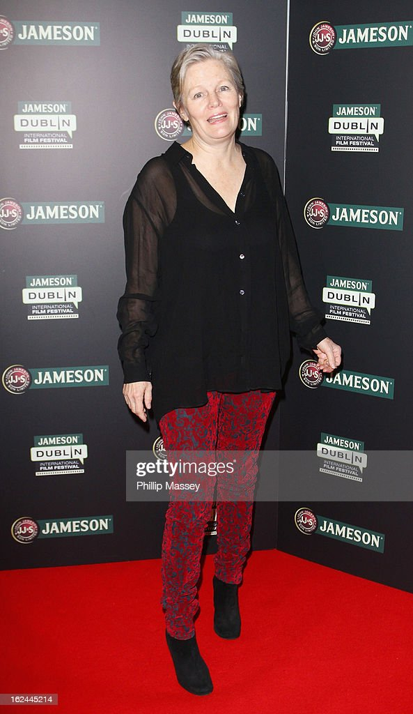 Mary Hannon attends a screening of 'The Moth Diaries' during the Jameson International Film Festival on February 23, 2013 in Dublin, Ireland.
