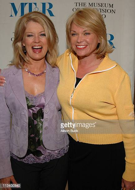 Mary Hart and Linda Bell Blue Chief Executive Producer of ET