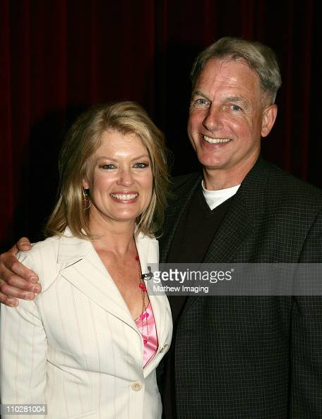 Mary Hart and Mark Harmon during CBS Paramount Network Television presents 'For Your Consideration' screening of NCIS at Leonard H Goldenson Theatre...