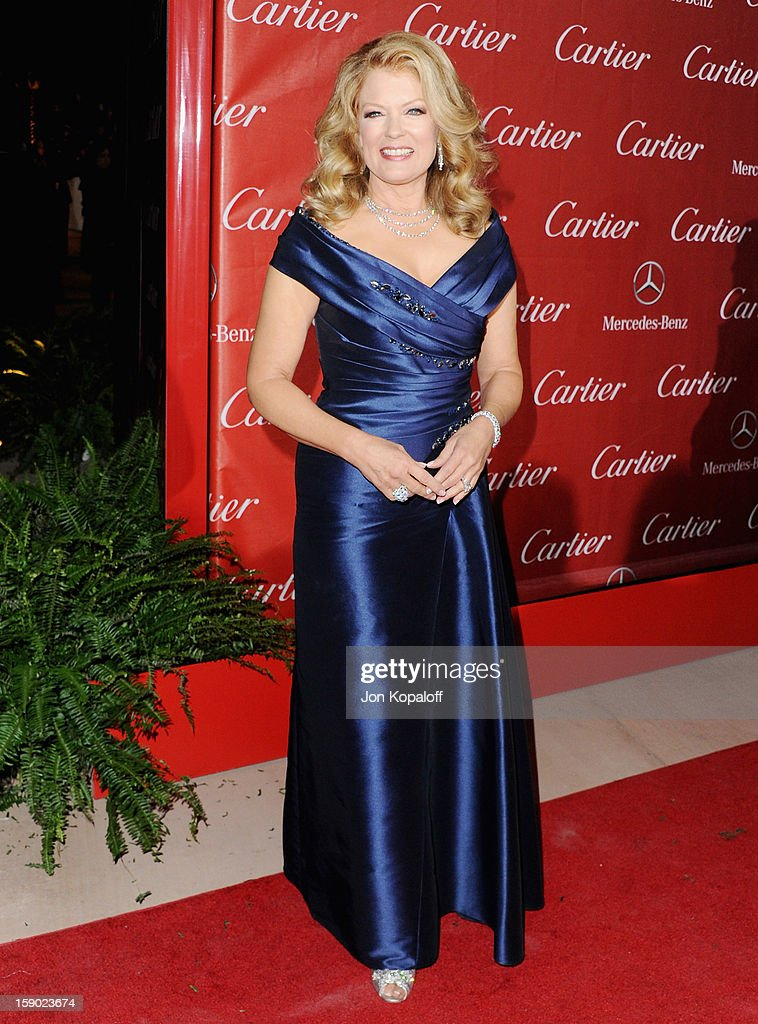 Mary Hart arrives at the 24th Annual Palm Springs International Film Festival Awards Gala at Palm Springs Convention Center on January 5, 2013 in Palm Springs, California.