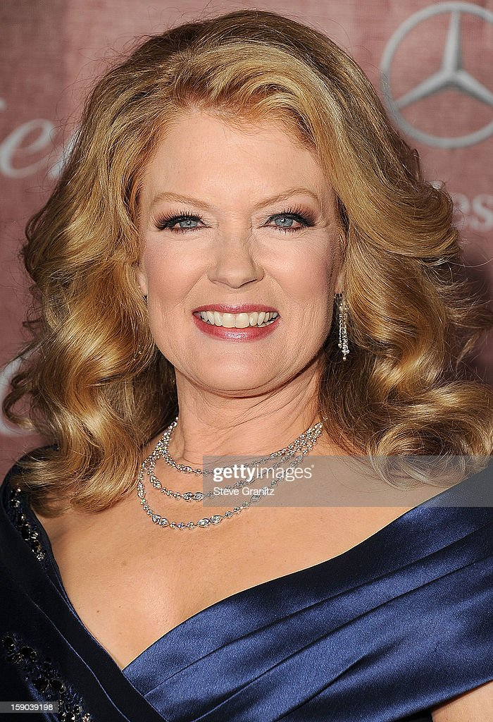 Mary Hart arrives at the 24th Annual Palm Springs International Film Festival at Palm Springs Convention Center on January 5, 2013 in Palm Springs, California.
