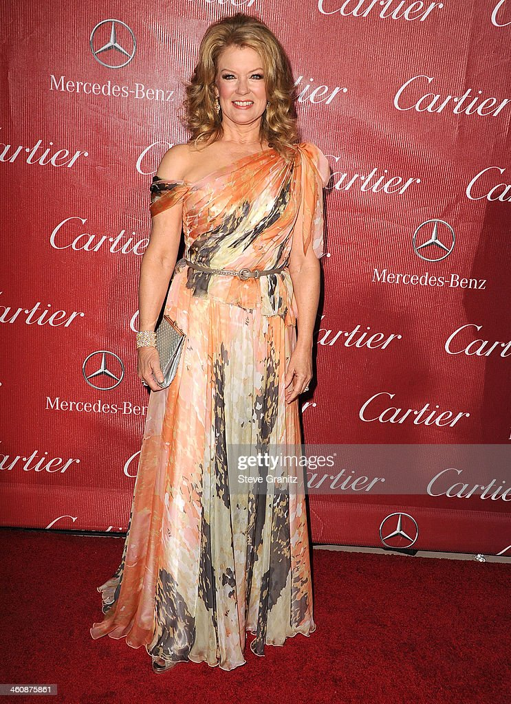 Mary Hart arrives at the 25th Annual Palm Springs International Film Festival Awards Gala at Palm Springs Convention Center on January 4, 2014 in Palm Springs, California.