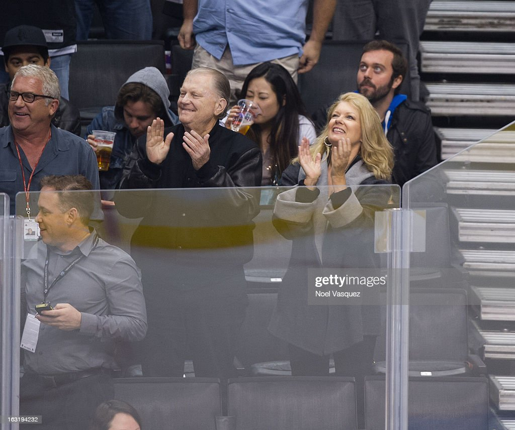 <a gi-track='captionPersonalityLinkClicked' href=/galleries/search?phrase=Mary+Hart&family=editorial&specificpeople=211488 ng-click='$event.stopPropagation()'>Mary Hart</a> attends a hockey game between the St. Louis Blue and Los Angeles at Staples Center on March 5, 2013 in Los Angeles, California.