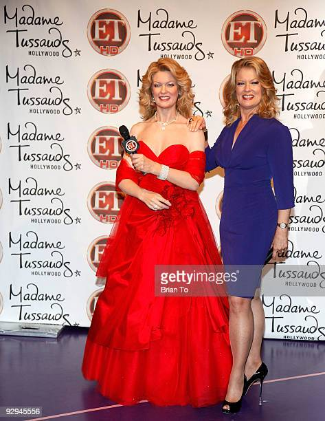 Mary Hart attends Mary Hart Wax Figure Unveiling At Madame Tussauds Hollywood at Madame Tussauds on November 9 2009 in Hollywood California