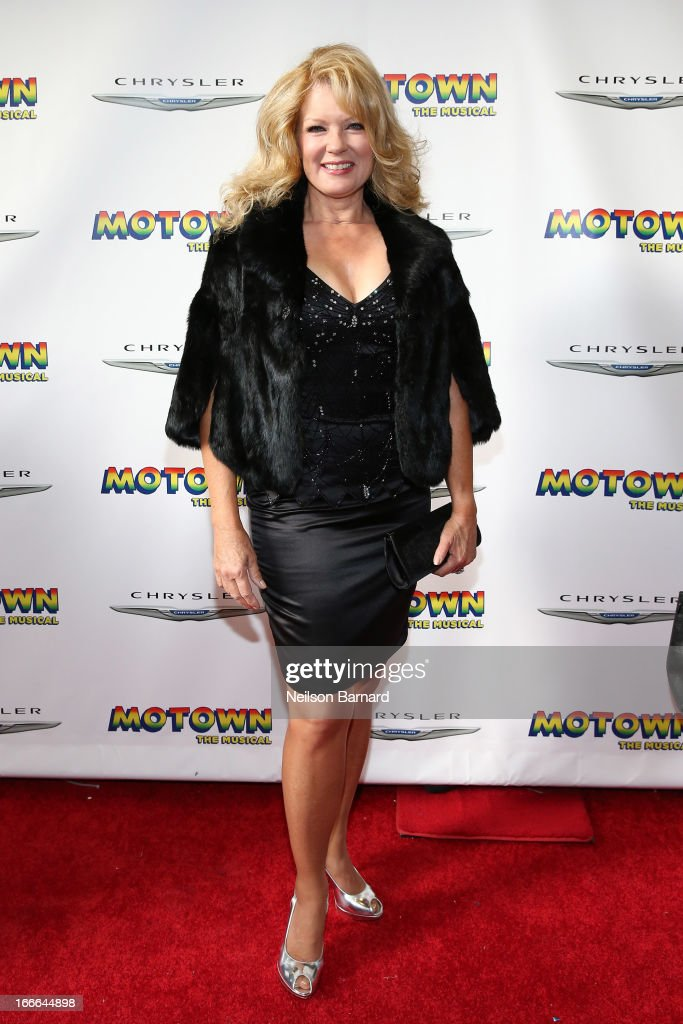 Mary Hart attends the Broadway opening night for 'Motown: The Musical' at Lunt-Fontanne Theatre on April 14, 2013 in New York City.