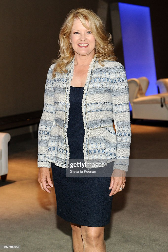 Mary Hart attends Women A.R.E. Salon Event Featuring Home Shopping Network's CEO Mindy Grossman at SLS Hotel on April 29, 2013 in Beverly Hills, California.