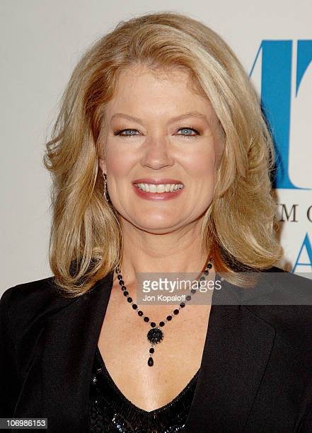Mary Hart during The Museum of Television Radio Honors Leslie Moonves and Jerry Bruckheimer Arrivals at Beverly Wilshire Hotel in Beverly Hills...