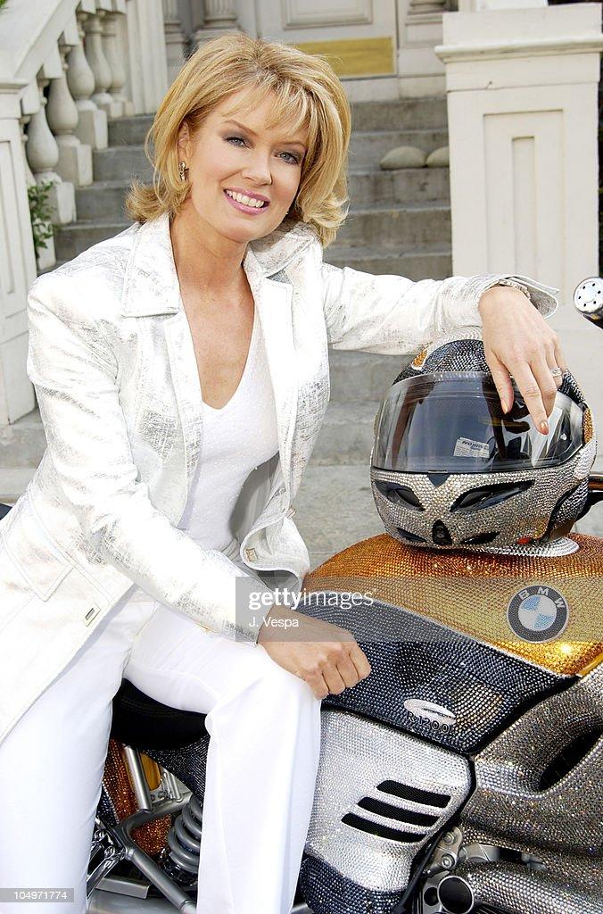Mary Hart rides the Swarovski BMW Cruiser for Oscar Week