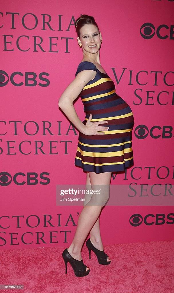 Mary Helen Bowers attends the 2013 Victoria's Secret Fashion Show at Lexington Avenue Armory on November 13, 2013 in New York City.