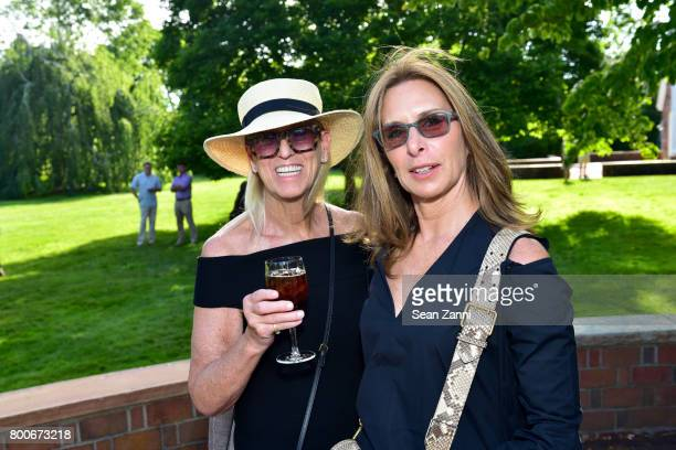 Mary Holtzman and Michelle Wills attend Maison Gerard Presents Marino di Teana A Lifetime of Passion and Expression at Michael Bruno and Alexander...