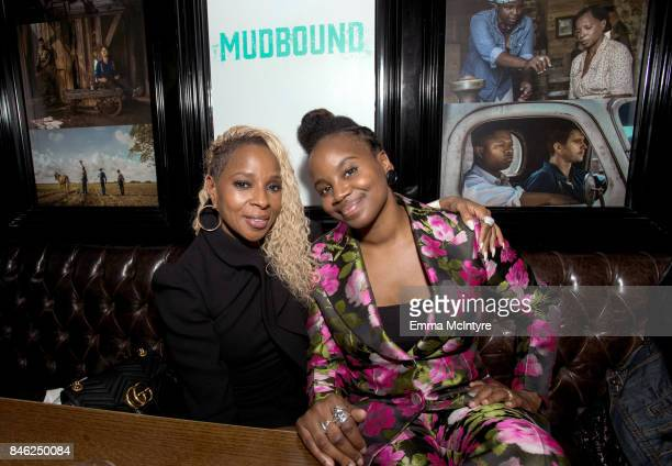 Mary J Blige and Dee Rees attend the Mudbound afterparty following the film's Gala Presentation at the 2017 Toronto International Film Festival