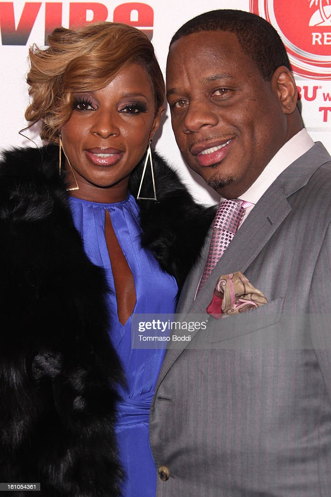 <a gi-track='captionPersonalityLinkClicked' href=/galleries/search?phrase=Mary+J.+Blige&family=editorial&specificpeople=171124 ng-click='$event.stopPropagation()'>Mary J. Blige</a> (L) and <a gi-track='captionPersonalityLinkClicked' href=/galleries/search?phrase=Kendu+Isaacs&family=editorial&specificpeople=841121 ng-click='$event.stopPropagation()'>Kendu Isaacs</a> attend the Vibe Magazine 20th anniversary celebration held at the Sunset Tower on February 8, 2013 in West Hollywood, California.