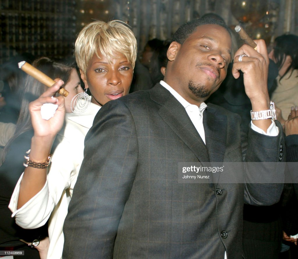 <a gi-track='captionPersonalityLinkClicked' href=/galleries/search?phrase=Mary+J.+Blige&family=editorial&specificpeople=171124 ng-click='$event.stopPropagation()'>Mary J. Blige</a> and <a gi-track='captionPersonalityLinkClicked' href=/galleries/search?phrase=Kendu+Isaacs&family=editorial&specificpeople=841121 ng-click='$event.stopPropagation()'>Kendu Isaacs</a> during <a gi-track='captionPersonalityLinkClicked' href=/galleries/search?phrase=Mary+J.+Blige&family=editorial&specificpeople=171124 ng-click='$event.stopPropagation()'>Mary J. Blige</a>'s Birthday Party at Butter in New York City, New York, United States.