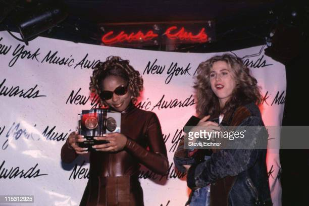 Mary J Blige and Sophie B Hawkins during 7th Annual New York Music Awards at Beacon Theater in New York City New York United States