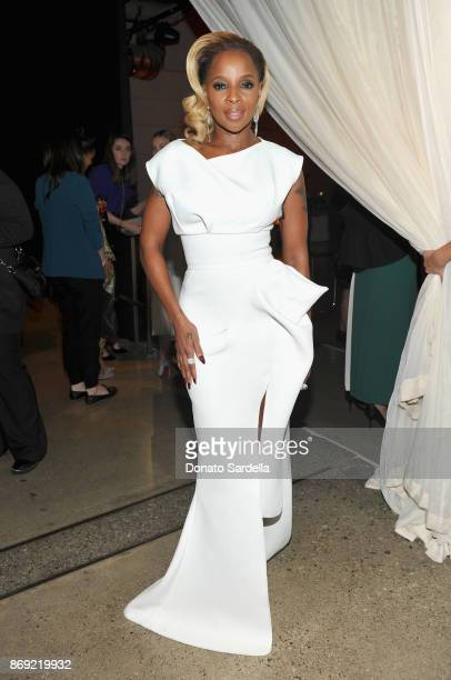 Mary J Blige at PORTER Hosts Incredible Women Gala In Association With Estee Lauder at NeueHouse Los Angeles on November 1 2017 in Hollywood...