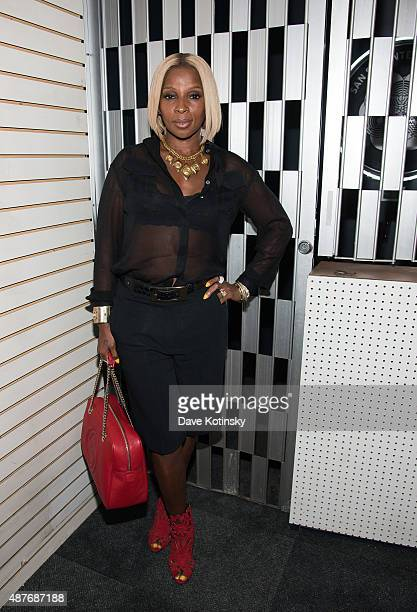 Mary J Blige attends DAZED and Red Bull Studios New York Opening Of 'Scenario In The Shade' Hosted By Jefferson Hack Jonah Freeman Justin Lowe And...