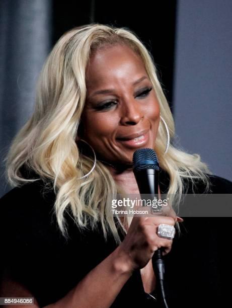 Mary J Blige attends SAGAFTRA Foundation's conversations and screening of 'Mudbound' at SAGAFTRA Foundation Screening Room on December 2 2017 in Los...