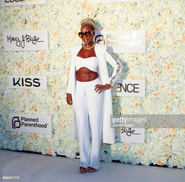 Mary J Blige attends the 2017 Essence Festival on July 2 2017 in New Orleans Louisiana
