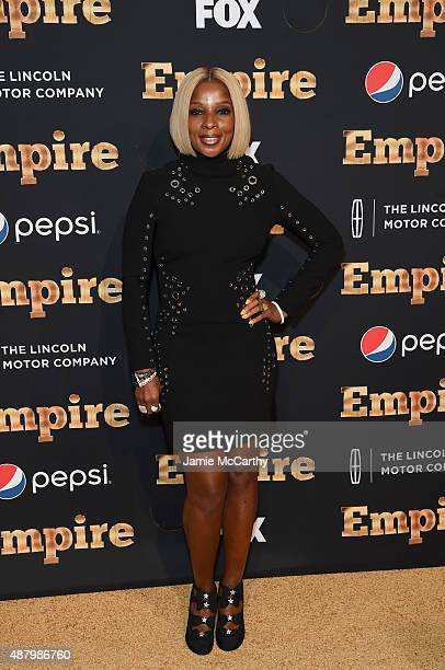 Mary J Blige attends the 'Empire' Series Season 2 New York Premiere at Carnegie Hall on September 12 2015 in New York City
