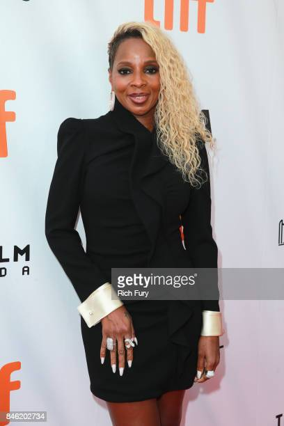 Mary J Blige attends the 'Mudbound' premiere during the 2017 Toronto International Film Festival at Roy Thomson Hall on September 12 2017 in Toronto...