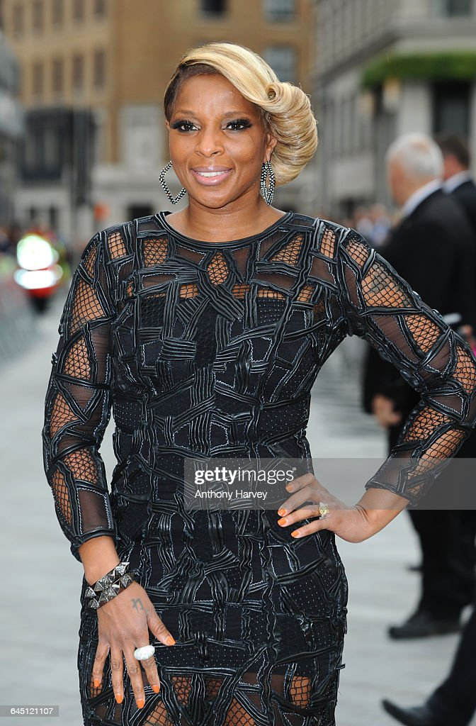 Mary J Blige attends the Rock of Ages Premiere on June 10 2012 at the Odeon Cinema in London