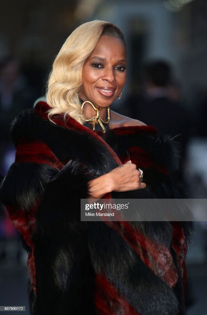 Mary J Blige attends the Royal Bank of Canada Gala & European Premiere of 'Mudbound' during the 61st BFI London Film Festival on October 5, 2017 in London, England.
