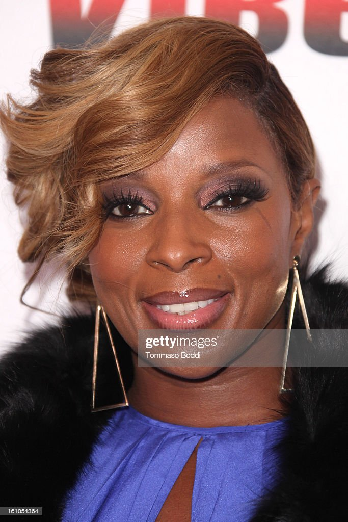 <a gi-track='captionPersonalityLinkClicked' href=/galleries/search?phrase=Mary+J.+Blige&family=editorial&specificpeople=171124 ng-click='$event.stopPropagation()'>Mary J. Blige</a> attends the Vibe Magazine 20th anniversary celebration held at the Sunset Tower on February 8, 2013 in West Hollywood, California.