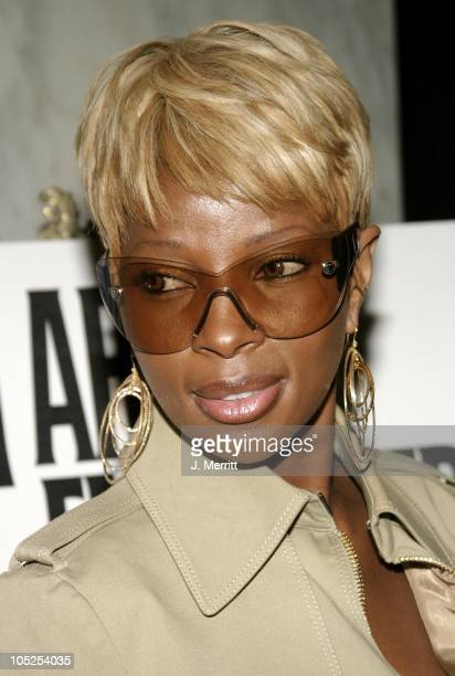 Mary J Blige during 2nd Annual AEC Grammy Sunday Brunch at The Regent Beverly Wilshire Hotel in Beverly Hills California United States