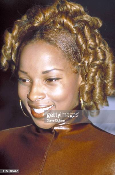 Mary J Blige during Mary J Blige at Beacon Theater 1992 at Beacon Theater in New York City New York United States