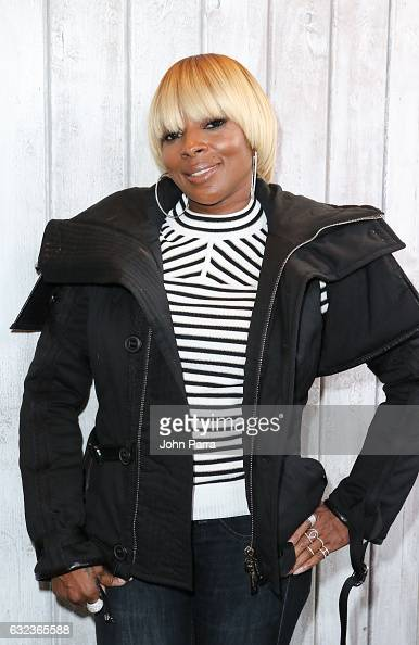 Mary J Blige from the film 'Mudbound' attends the The Hollywood Reporter 2017 Sundance Studio At Sky Strada Day 2 2017 Park City on January 21 2017...