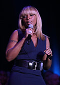 Mary J Blige performs on stage during 'Trevor Live at The Hollywood Palladium' held at the Hollywood Palladium on December 4 2011 in Los Angeles...