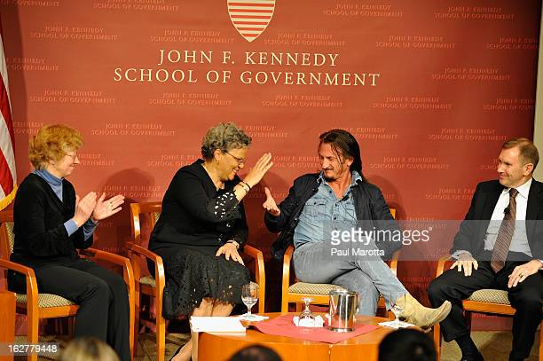 Mary Jo Bane Thornton Bradshaw Professor of Public Policy and Management Dr Michele PierreLouis Prime Minister of Haiti and President FOKAL...