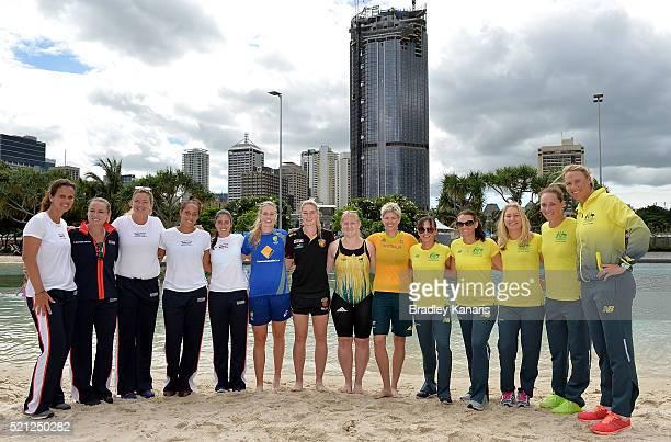 Mary Joe Fernandez Bethanie MattekSands Coco Vandeweghe Madison Keys Christina McHale Australian Cricket player Holly Ferling AFL player Tayla Harris...