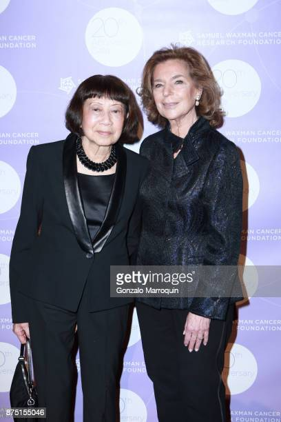 Mary Kantor and Marion Waxman during the Samuel Waxman Cancer Research Foundation's COLLABORATING FOR A CURE 20th Anniversary Gala on November 16...