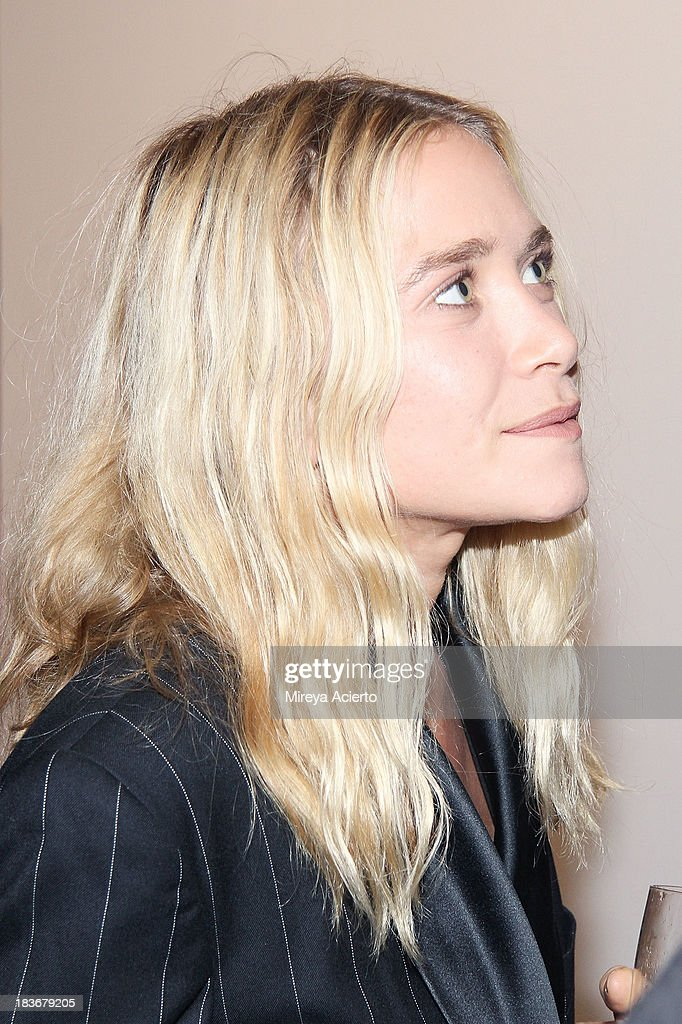 Mary Kate Olsen attends the 2013 'Take Home A Nude' Benefit Art Auction And Party at Sotheby's on October 8, 2013 in New York City.