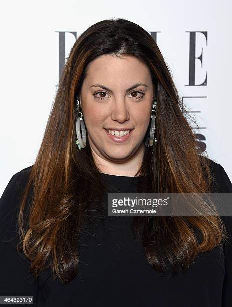 Mary Katrantzou attends the Elle Style Awards 2015 at Sky Garden @ The Walkie Talkie Tower on February 24 2015 in London England