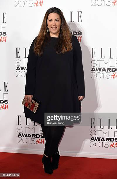 Mary Katrantzou attends the Elle Style Awards 2015 at Sky Garden @ The Walkie Talkie Tower on February 24 2015 in London UK